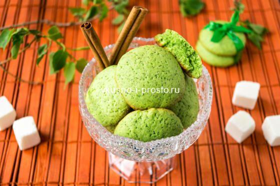 Очень необычное  печенье с  весенним настроением в виде бонуса. Бесподобно сочетается с горячим чаем.
