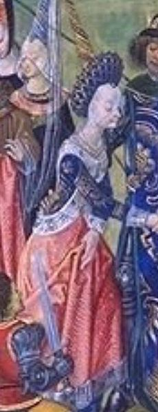 Isabelle de Valois (1389-1409),Queen of England,daughter of Charles VI King of France and Isabeau of Bavaria