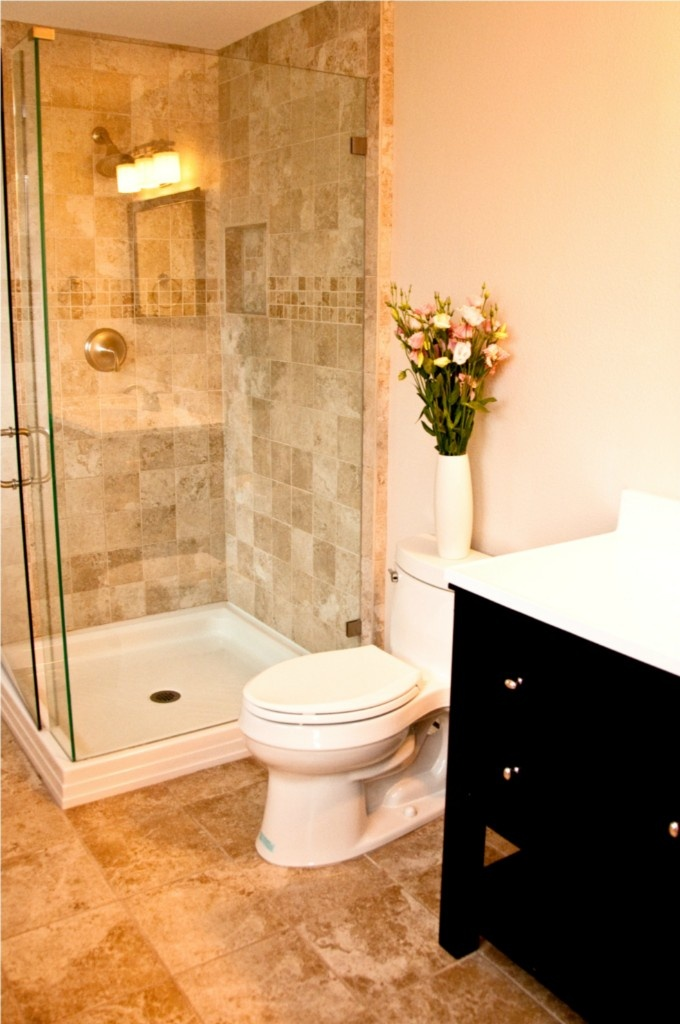 Nice Bathroom Design For Small Space: Issaquah, WA