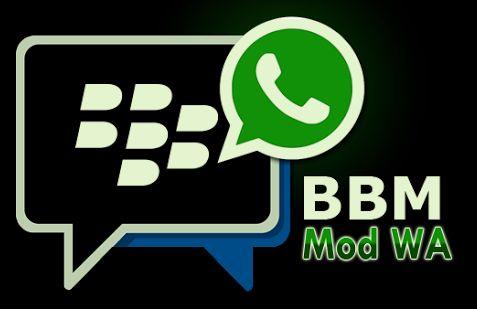 Download BBM Mod WhatsApp (WA)