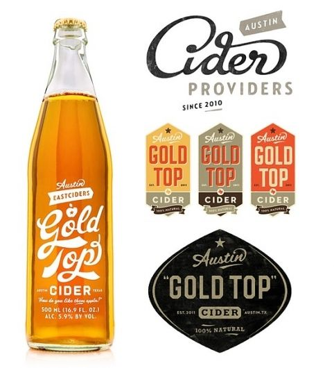 Designspiration — Stunning packaging designs | From up North: Logos, Gold Tops, Up North, Packaging Design, Simon Walker, Packaging Inspiration, Stunning Packaging, Branding, Goldtop