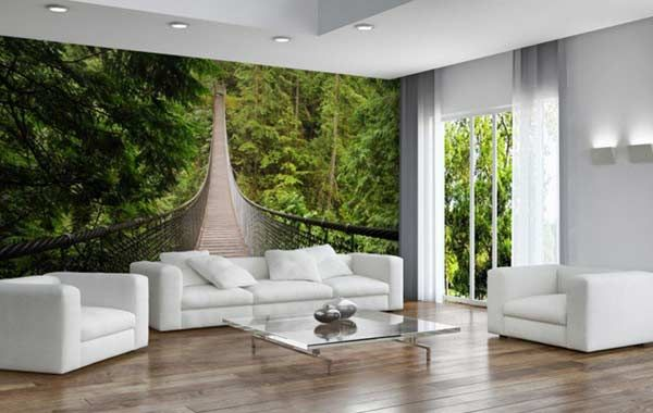 Fantasy 3d Wallpaper Designs For Panoramic Walls Creative Ways To