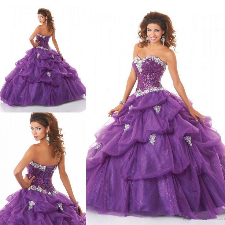 48 best Quinceanera Dresses images on Pinterest | Quince dresses ...