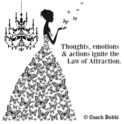 Home Decor, Accessories and Clothing to Ignite the Law of Attraction! © Coach Bobbi