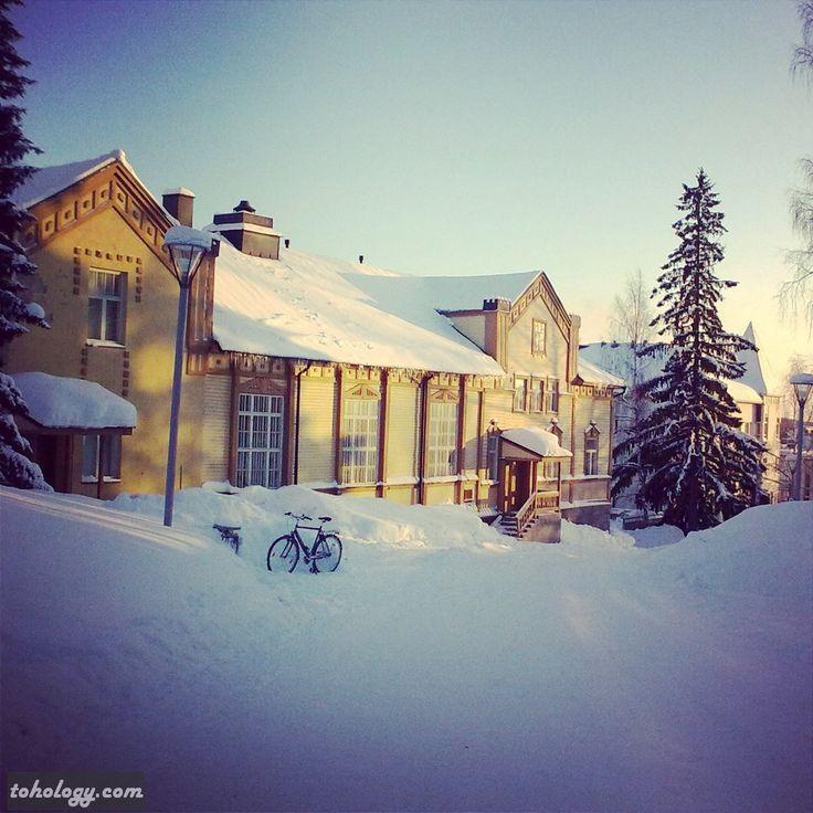 Mikkeli in winter (Finland)
