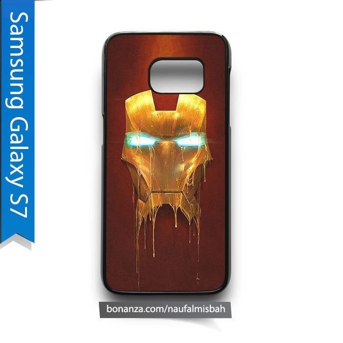 Iron Man Mask Samsung Galaxy S7 Case Cover