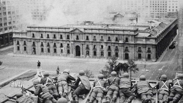 Golpe de estado a Salvador Allende (Chile, 1973)