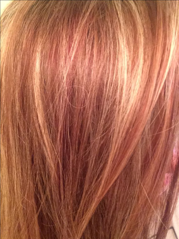My Hair Natural Ginger Copper With Deep Red Lowlights
