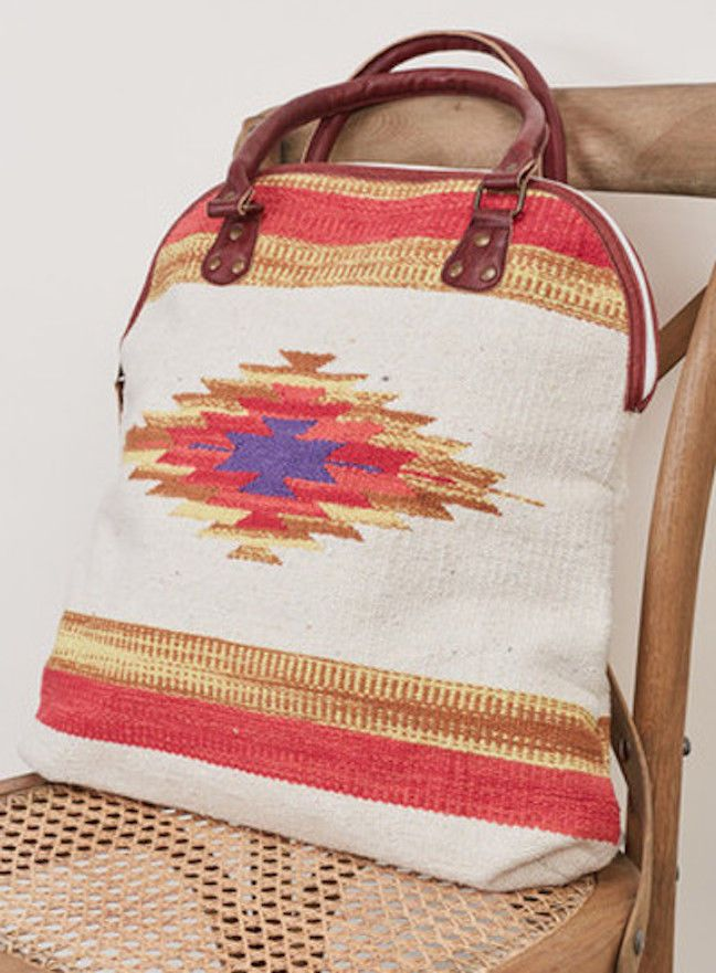 SOUTHERN GIRL FASHION $98 Bohemian Bag Ethnic Vegan Leather Carryall Book Tote #Boutique #SummerBeachBag