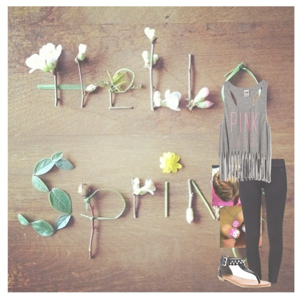 """""""it finally feels like spring ♥"""" by jessie-horan ❤ liked on Polyvore"""