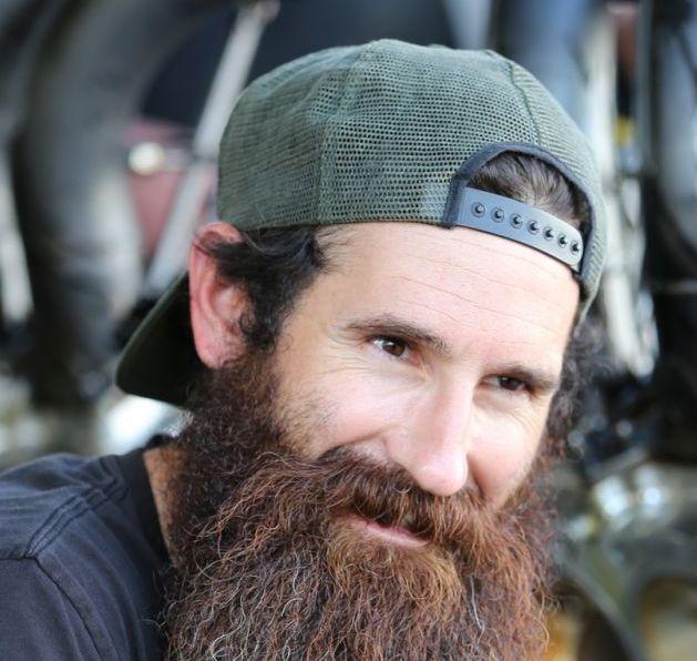 best 25 aaron kaufman ideas on pinterest sexy biker men gas monkey garage and monkey garage. Black Bedroom Furniture Sets. Home Design Ideas