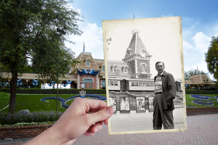 """The idea of Disneyland is a simple one. It will be a place for people to find happiness and knowledge."" - Walt Disney"