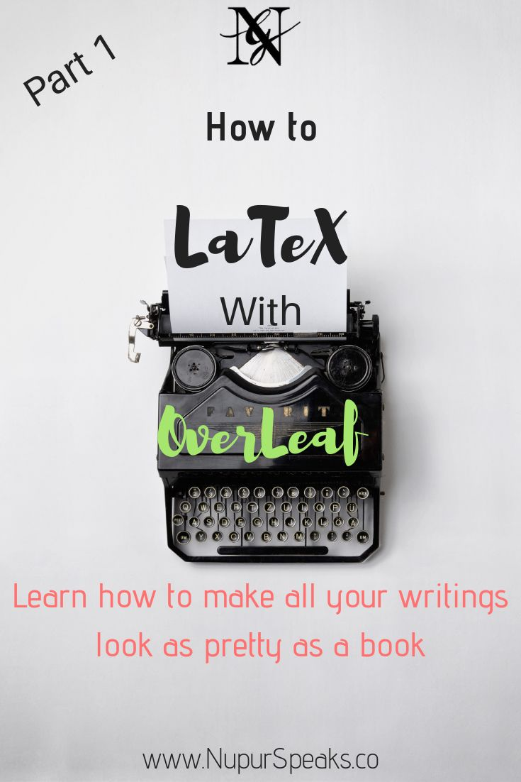 5 Different Latex Templates To Try Using Overleaf College Tips And