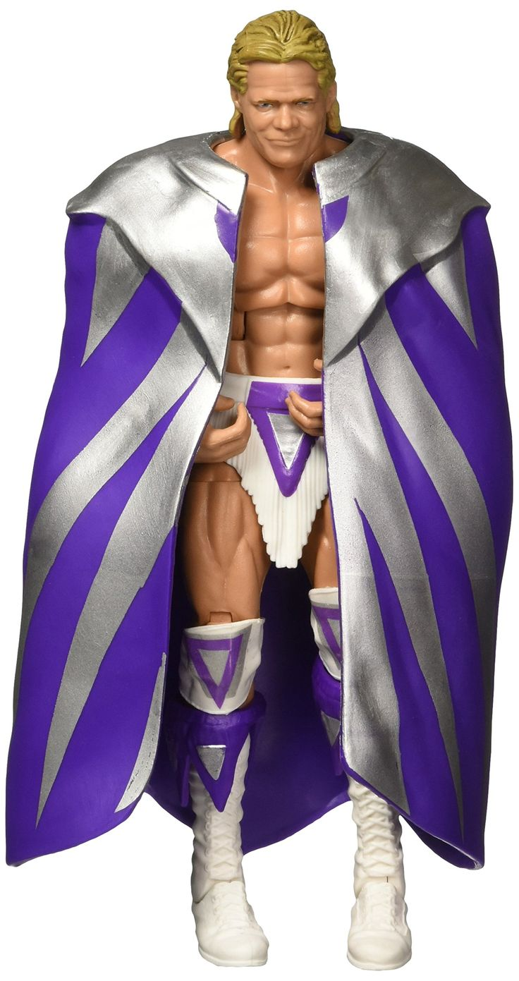 WWE Elite Flashback Narcissist Lex Luger Figure. Capture the blowout action of WWE Superstars with this Elite Collection figure!. Featuring one of the WWE's biggest personalities and Champions, this bold and colorful figure comes ready to wreak havoc right out of the box!. Figure has deluxe articulation, a detailed character expression, authentic ring attire and iconic accessories. Get all the WWE Elite Collection figures and let the battles begin!. Each sold separately, subject to...