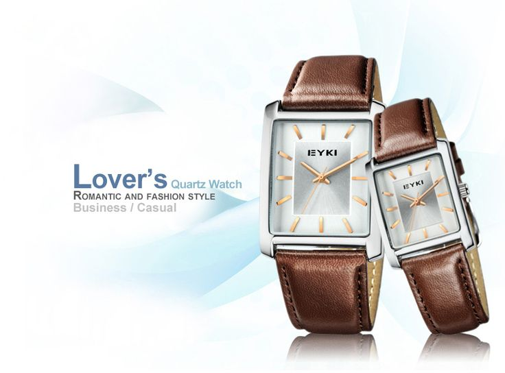 When I look this  #EYKI fashion #lover'swatch, I was attracted by it's appearence. I think that is what I have been looking for! Elegant and fashion #quartzwatch. Precise calibration with clearly readable dial. Combine classic elegance with strong contemporary design. Daily water-resistant, please don't wear it during shower or swimming for longer service. I love all of it, totally a good gift for boyfriend!