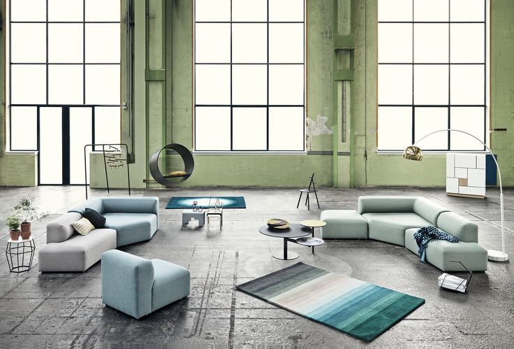 This is all new! Sofa is called Angle and design by Danish duo 'Says Who'
