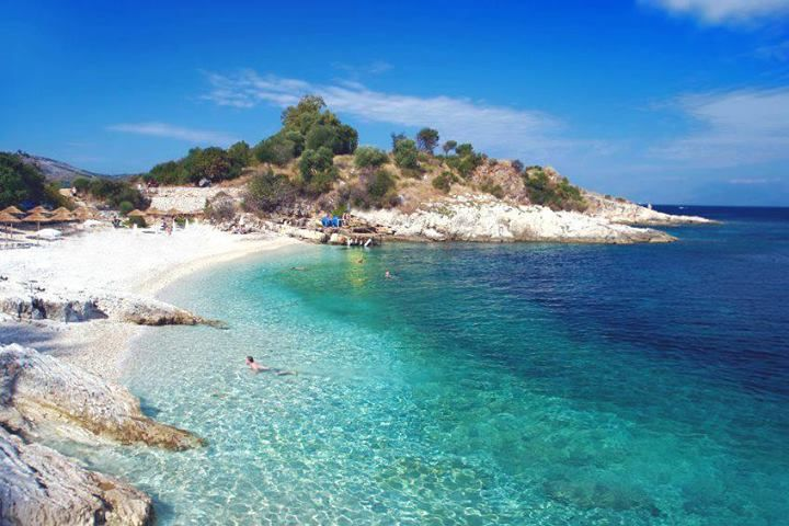 Kassiopi Beach-Corfu,Ionian sea,Greece