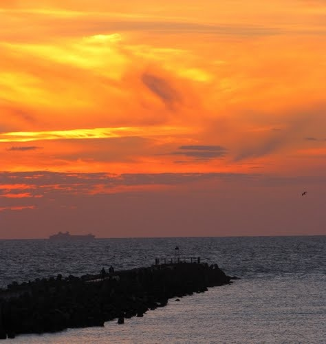 'Sunset' - Nørre Vorupør, Jutland, Denmark