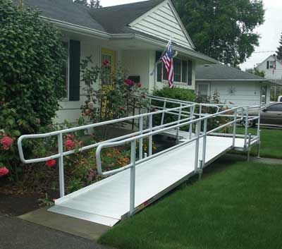 Modular Wheelchair Ramps for homes