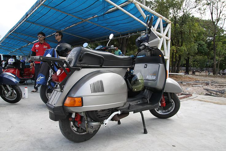 Modern Vespa : Does T5 and Vespa PX 200 GS E parts fit together ?