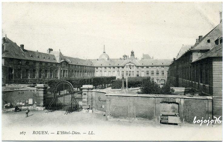 Rouen - L'Hôtel Dieu
