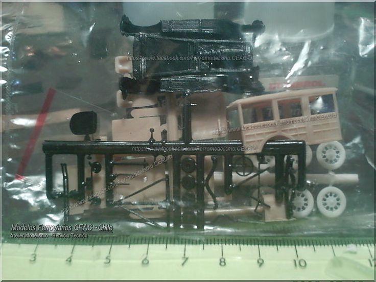https://flic.kr/p/HHAEE7   Small parts...   -- Ficha Técnica Modelismo #13385-4022 Modelos Ferroviarios CEAC - Chile