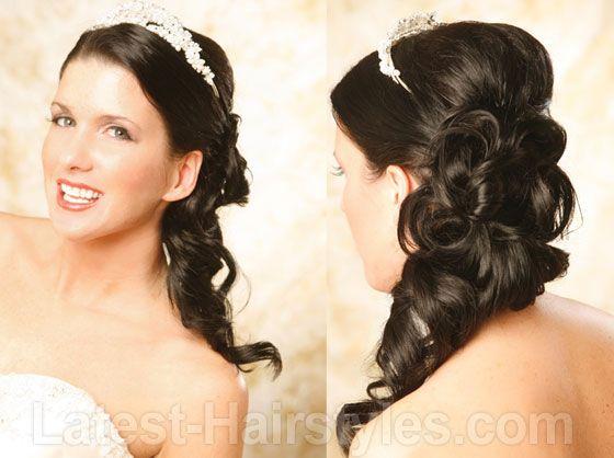 Top 20 Fabulous Updo Wedding Hairstyles: Best 20+ Side Ponytail Wedding Ideas On Pinterest