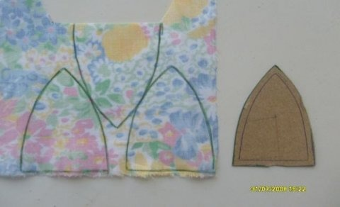 Simplesmente Artesanato: Tulipas de Tecido - passo a passo