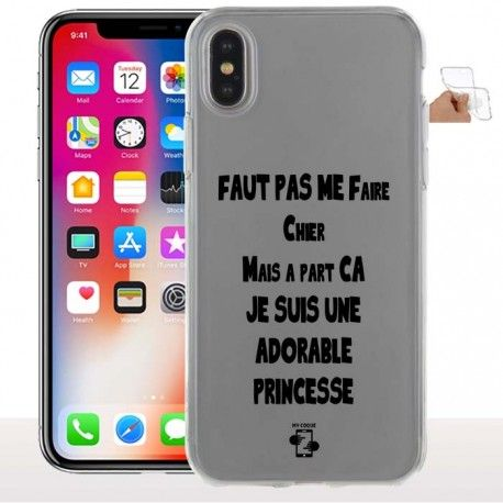 coque iphone x fun