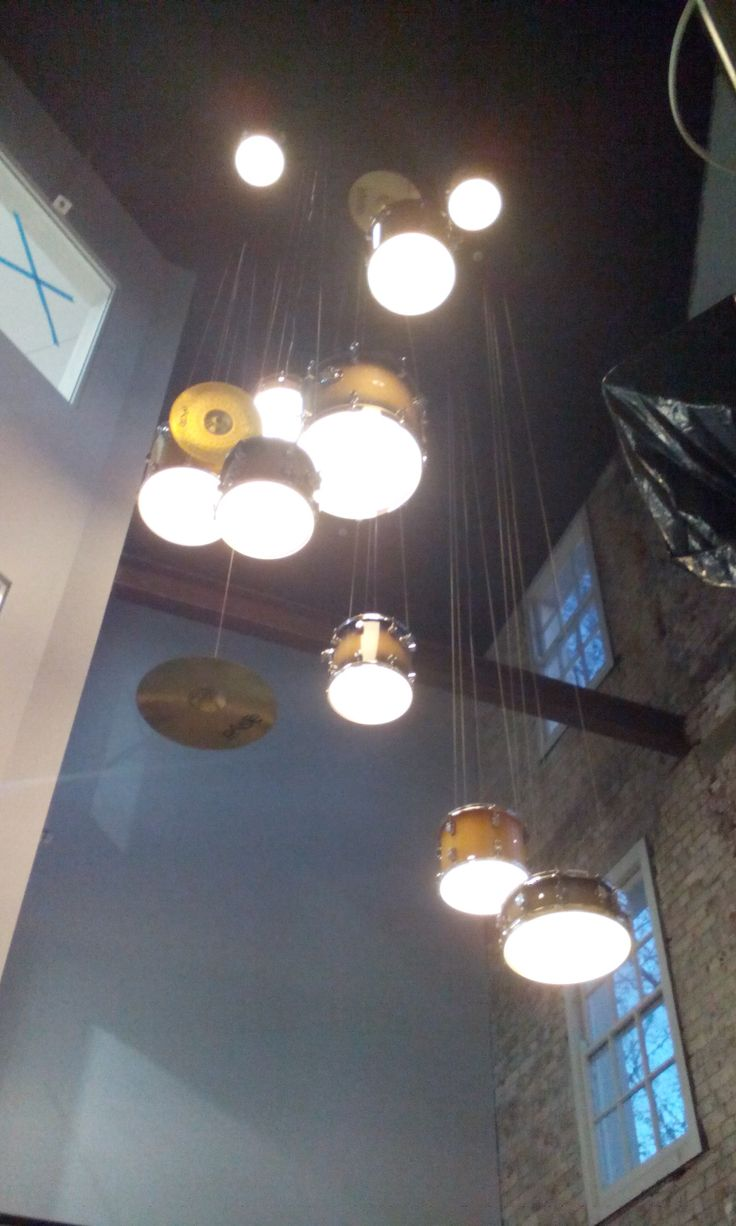 Handmade #Lighting Design project from recycled Drums  #interiordesign #design #lightingdesign