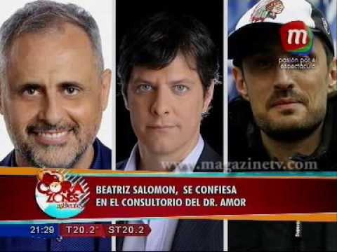 """Beatriz Salomón """"Tuve sexo dentro de un ascensor"""""""