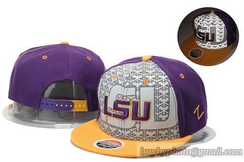 NCAA College Football LSU Tigers Reflective Snapback Hats #snapbacks #snapbackhats #hats #popular