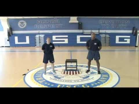It's not JUST 8 weeks Month 01: Days 01, 03 and 05 « Coast Guard Boot Camp