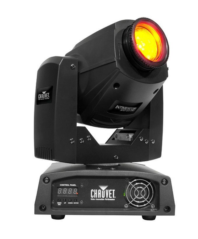 Chauvet DJ Intimidator Spot LED 250 Moving Yoke Head Pro DMX Lighting Effect