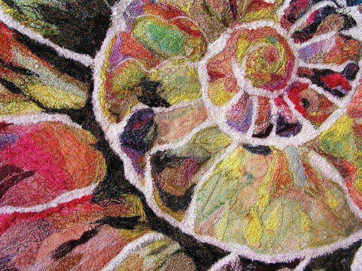 Carol Coleman, York - amazing free motion embroidery