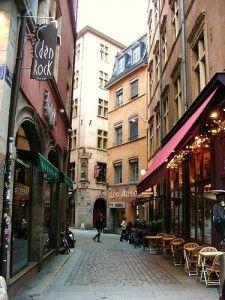 Rue Mercière, Lyon, France