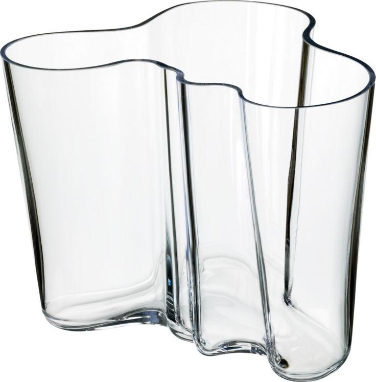 Iittala - Alvar Aalto Collection Vase 160 mm clear - Iittala.com