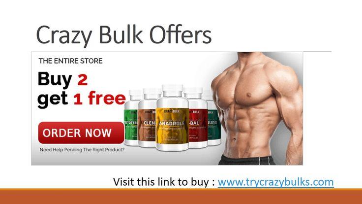 Crazy bulk Offers