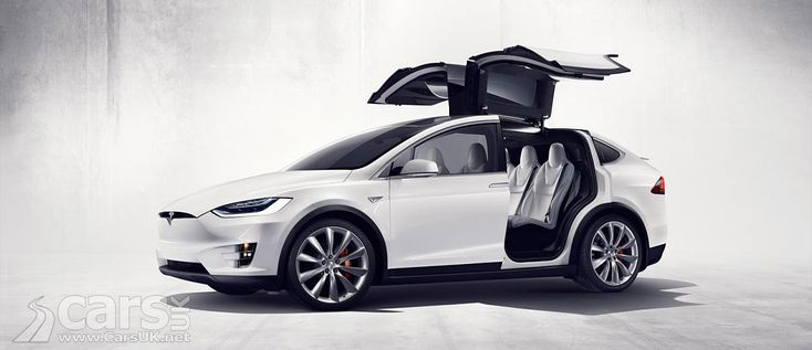 The Tesla Model X SUV - the world's first electric SUV - arrives in production guise with up to 751bhp and 0-62mph in 3.2s. Arrives in the UK late 2016.