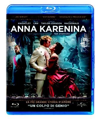 Anna Karenina, il film di Joe Wright interpretato da Keira Knightley, in edizione Blu-Ray