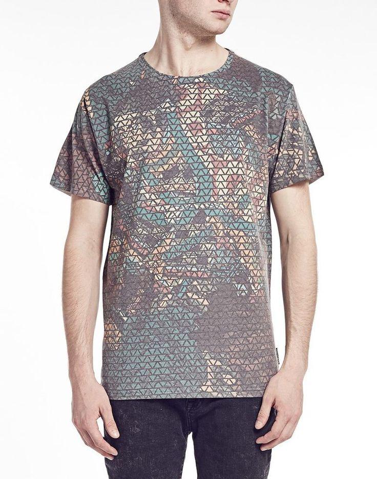 The Cuckoo's Nest Senshi digital print tee t-shirt Medium Short Sleeve #TheCuckoosNest #GraphicTee