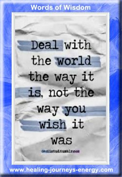 How to deal with the world ...