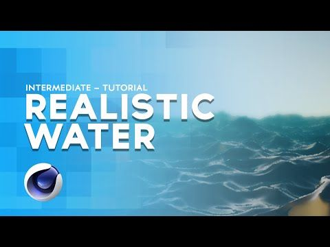 C4D - Realistic water