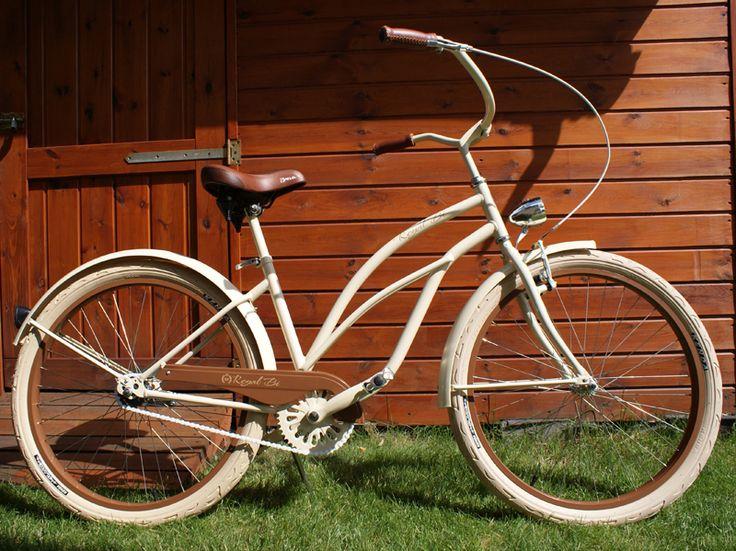 Rower cruiser Sahara #bike #cruiser #beachbike #beachcruiser #royalbi #rower #miejski www.RoyalBi.pl