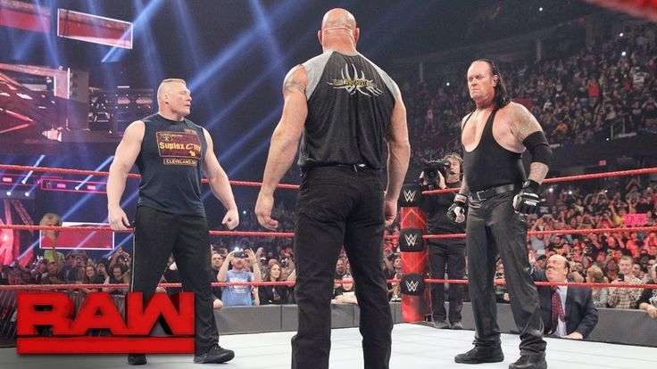 Brock Lesnar goes face-to-face with Goldberg and The Undertaker: Raw, Jan. 23, 2017 - http://www.truesportsfan.com/brock-lesnar-goes-face-to-face-with-goldberg-and-the-undertaker-raw-jan-23-2017/