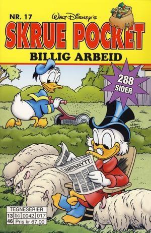 """""""Billig Arbeid - Skrue Pocket #17"""" av Walt Disney"""