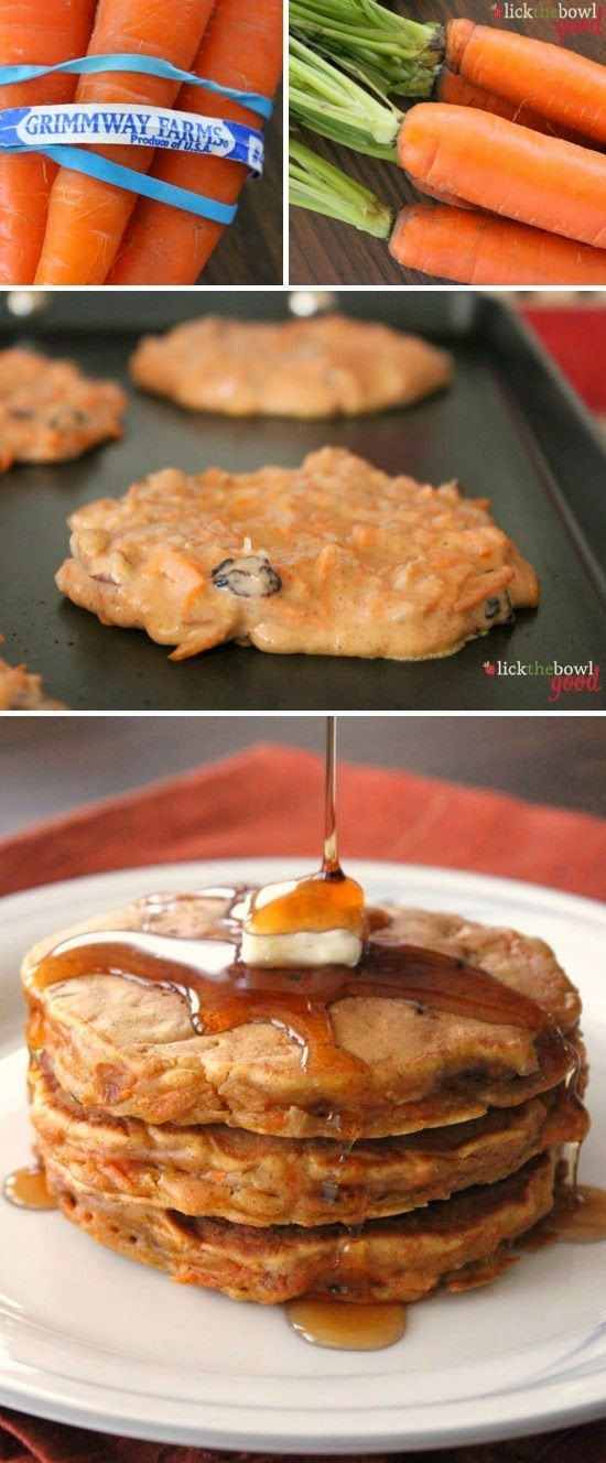 New Food & drink: Monica's Carrot Cake Pancakes