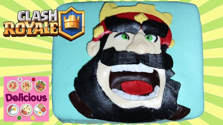 Clash Royale Cake Recipe - How to make Clash Royale Cake Tutorial - Clas...