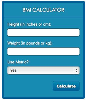 Free BMI Calculator – Should you lose weight?