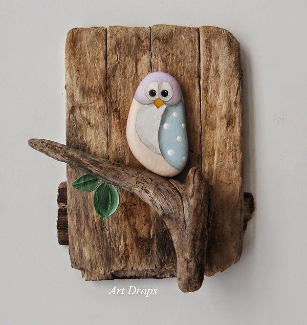 Pintar y decorar piedras a mano. Consejos básicos e ideas rebonitas - Manualidades